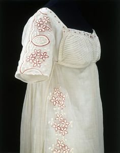 Dress  Place of origin: Great Britain, United Kingdom (made)  Date: ca. 1808 (made)  Artist/Maker: unknown (production)  Materials and Techn...