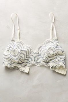 Eberjey Anika Bralette Blue Motif Intimates #anthrofave