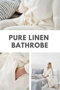 Linen Bathrobe, Short Kimono Bathrobe, Light Waffle Linen Robe, Kimono Robe, Linen Clothing, Linen Gown, Pure Linen for Bathroom, Nightgown#PureLinen #LinenBathrobe #Bathrobe #Kimono