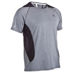 Camiseta manga corta de running hombre Kalenji Eliofeel gris Manga Corta 34ecc6a230baa
