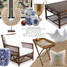 Inspiration for getting the Bunny Wiliams look. - Inspiration for getting the Bunny Wiliams look. West Indies Decor, West Indies Style, British West Indies, Ubud, Tropical Interior, Tropical Decor, British Colonial Decor, Estilo Tropical, Interior Decorating