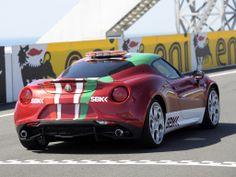 Alfa 4c sbk safety car 2014 #Alfa4c