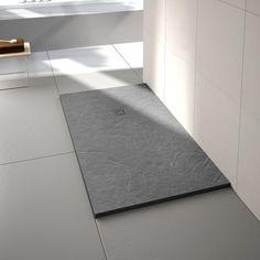 Merlyn Truestone Fossil Grey Rectangular Shower Tray 1000 x 800mm
