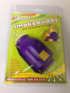 Smoke Buddy - Personal Air Filter/ Purifier Brand New - Purple + Free Performance Technology Wrist Band - http://www.majestyappliance.com/smoke-buddy-personal-air-filter-purifier-brand-new-purple-free-performance-technology-wrist-band/