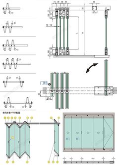 New glass sliding door detail drawing 47 Ideas