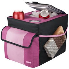 Trvl Pink Insulated Back Seat Organizer