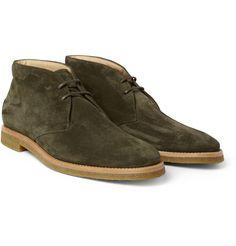 Tod's No_CodeCrepe-Sole Suede Desert Boots|MR PORTER