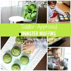 5 Nutrients for Your Growing Toddler - All In One Delicious Monster Muffins Recipe