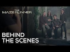Dylan O'Brien, Will Poulter, Kaya Scodelario and Thomas-Brodie Sangster all pull their best Maze Runner poses for this behind-the-scenes photo shoot!