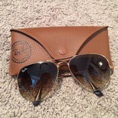 RAYBAN Aviator sunglasses Aviator sunglasses in brown (Large Version) Ray-Ban Accessories Glasses
