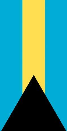 Bahamas Flag Themed Light Weight (1x4) Regulation Size Custom Cornhole Board Game Set - Corn Hole - Bag Toss