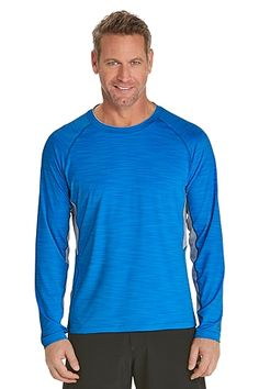 4874ec38a003 He looks great in the UV blocking rash guard! Sun protection with a look he