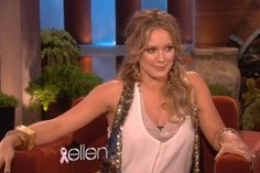 Hilary Duff on Ellen DeGeneres: Im having a boy!