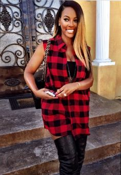 Malaysia Pargo. I love this outfit, it would be real cute if the shirt were striped instead