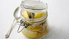 Fragrant, strongly flavoured preserved lemons are well worth the wait. Moroccan Salad, Prawn Curry, Preserved Lemons, Edible Gifts, Lemon Recipes, Preserves, Cooking Tips, Food Tips, Food Ideas