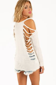 Back Off Sweater at HelloShoppers