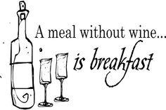 A fun design for the true wine lover.