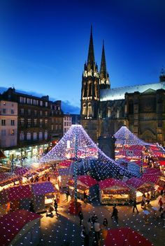 Christmas in Clermont-Ferrand - Merry Christmas and Happy New Year!