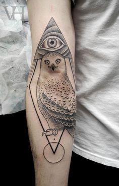 Valentin Hirsch - snow owl