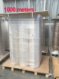 Jumbo roll sublimation paper 1000 meters packing ! www.brosublimationpaper.com