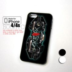 Skrillex Glowing Logo design for iPhone 4/4s Case