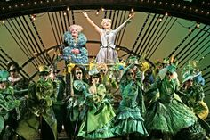 Wicked the Musical. Lucy Durack, Maggie Kirkpatrick and company. It's so good I saw it twice.