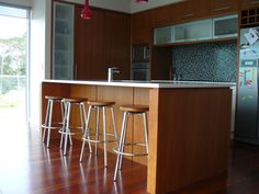 boxed ends, negative detail benchtop ? How about this option? Kitchen Island Bench, Timber Deck, Engineered Stone, Reclaimed Timber, Wooden Cabinets, Apartment Kitchen, Architecture Details, Kitchen Inspiration, Kitchen Ideas