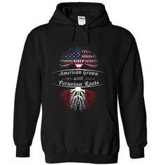 AMERICAN GROWN-PERUVIAN ROOTS - #hoodie allen #embellished sweatshirt. ORDER HERE => https://www.sunfrog.com/LifeStyle/AMERICAN-GROWN-PERUVIAN-ROOTS-6861-Black-Hoodie.html?68278