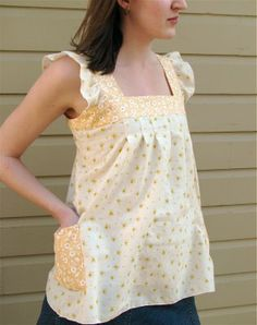 My Spring Top Tutorial on Sew Mama Sew!