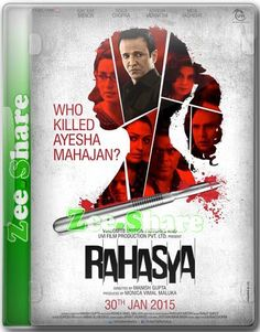 FREE DOWNLOAD LATEST  RAHASYA MOVIE 2015 http://3gp-mobilemovies.com/bollywood/r4h45y4.php Only child of a doctor couple is murdered in her sleep inside their large duplex apartment.  Rating: 8.4 Stars Director: Manish Gupta Writers: Manish Gupta, Manish Gupta Stars: Kay Kay Menon, Tisca Chopra, Ashwini Khalsekar