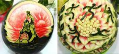 watermelon art 20 awesmoe carvings (9)