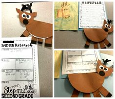 Reindeer Ruckus: Students completed some fun reindeer research.