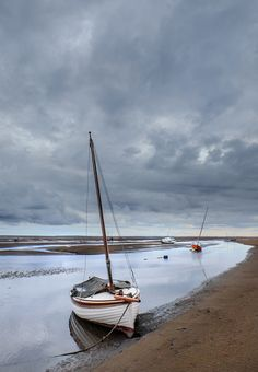Await no man.The last shot of the day at St Meols in North Wales as the tide begins to flood.