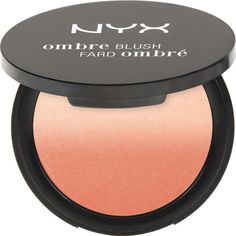 NYX COSMETICS Ombré Blush ($12) ❤ liked on Polyvore featuring beauty products, makeup, cheek makeup, blush, code breaker, nyx blush and nyx