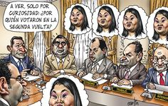 El Trazo de Carlín sobre el voto de los ministros del Gabinete que preside Oscar Valdés, en la segunda vuelta, del #eterno2011