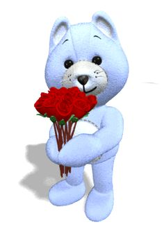 The perfect Rose Bear ForYou Animated GIF for your conversation. Discover and Share the best GIFs on Tenor. I Love You Pictures, Love You Gif, My Love, Je T Aimes, Michael Shanks, Glitter Flowers, Gif Photo, Beautiful Gif, Beautiful Roses