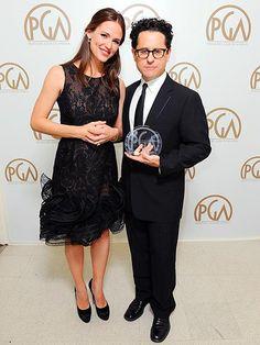 Loving Jennifer's dress for Producer Guild Awards