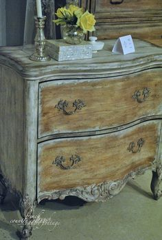 best ideas for furniture makeover shabby chic french country annie sloan French Furniture, Paint Furniture, Shabby Chic Furniture, Furniture Makeover, Bedroom Furniture, French Country Cottage, French Country Style, Cottage Farmhouse, Country Homes