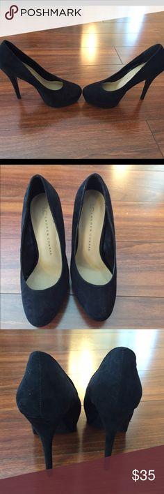 ⬇️Price Lowered⬇️ New black pumps New black heeled pumps. 4 inch heel with 1 inch platform. Size 6 brand: LC Lauren Conrad LC Lauren Conrad Shoes Heels