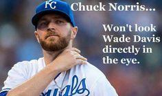 Wade Davis rocks the mound!