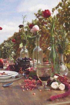 Inspiration: Un matrimonio bohémien in vigna | Wedding Wonderland