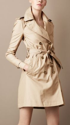 Burberry Trench.  Owning one of these bad boys is one of those secret goals of mine.