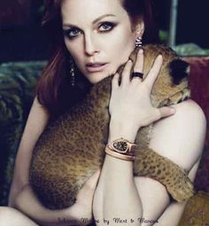 julianne Moore Spring/Summer 2010 Bulgari campaign shot by mert and marcus