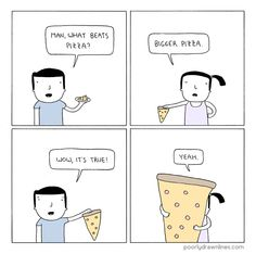 Poorly Drawn Lines – Pizza