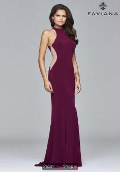 decf9db3ead Faviana Dress 7943 Beautiful Prom Dresses