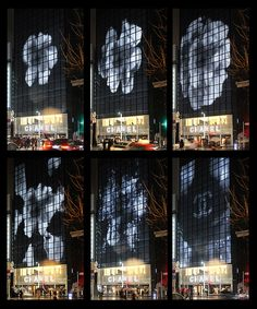 Image result for chanel media facade tokyo Mall Design, Tower Design, Lighting Concepts, Lighting Design, Interactive Walls, Metal Facade, Facade Lighting, Media Wall, Building Facade