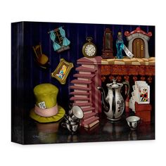 ''Things from Wonderland'' Giclée on Canvas by Clinton Hobart