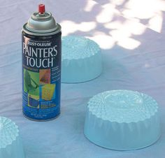 craft blue opaline glass decor, crafts, home decor