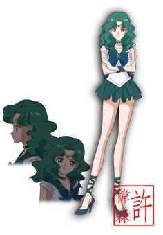 Sailor Neptune - Sailor Moon Crystal by xuweisen.deviantart.com on @DeviantArt