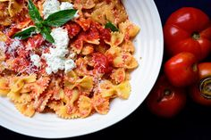 Pasta With Fresh Tomato Sauce and Ricotta Recipe - NYT Cooking